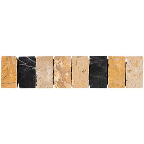Listello Tevere hardstone mix 5,2x23cm