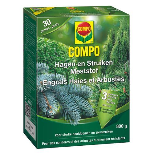 Engrais haies et arbustes Compo 800g