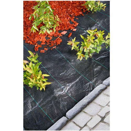 Ubbink gronddoek zwart 2,1 x 1 m
