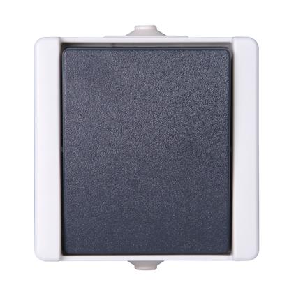 Baseline wisselschakelaar spatwaterdicht grijs