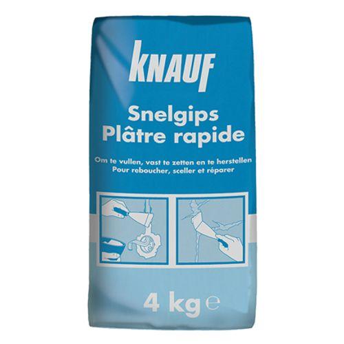 Knauf Snelgips 4 kg