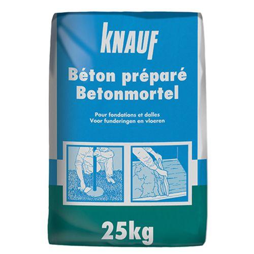 Béton préparé Knauf 25 kg