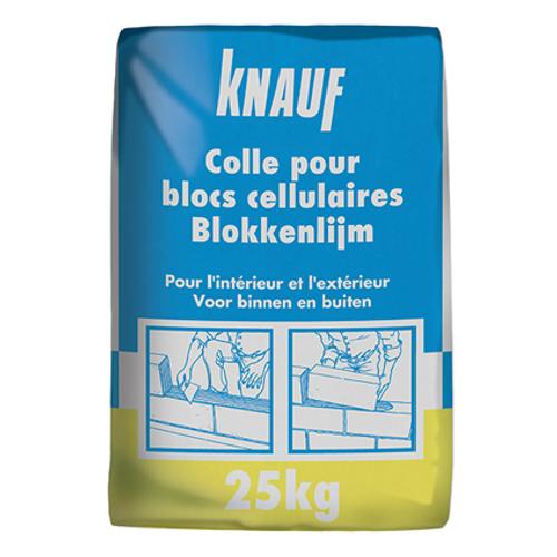Colle Knauf pour blocs cellulaires 25 kg