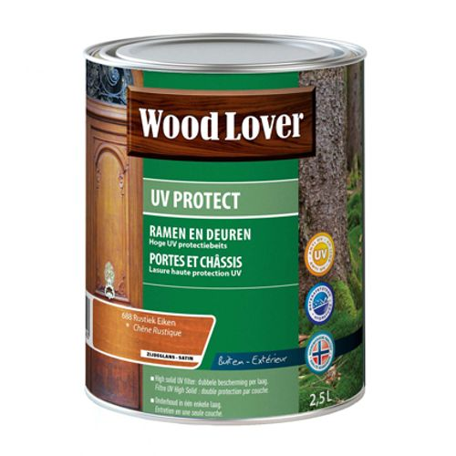 Wood Lover beits 'UV Protect' rustiek eiken 2,5L