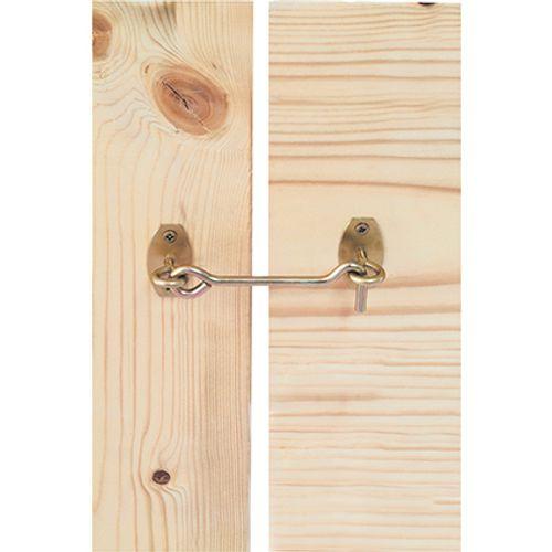Suki windhaak op plaat verzinkt staal 5,8 x 120 mm