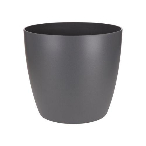 Elho pot 'Brussels Round' antraciet 13 cm
