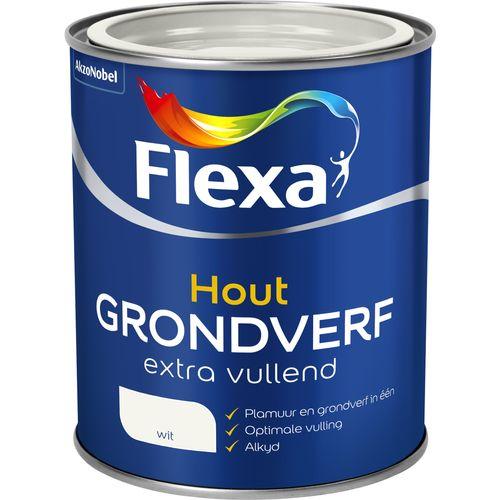 Flexa grondverf extra vullend wit 750ml
