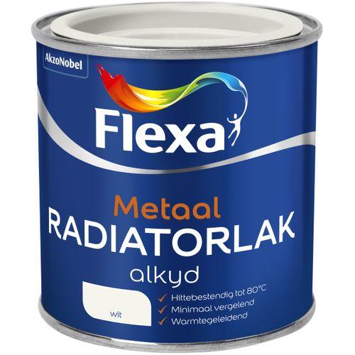 Flexa radiatorlak wit 250ml
