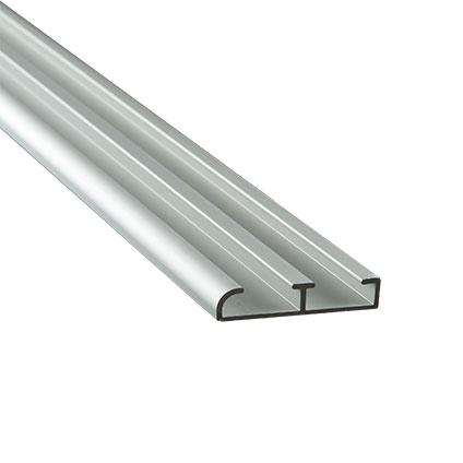 Mac Lean rail & roll geleidingsprofiel aluminium 250cm