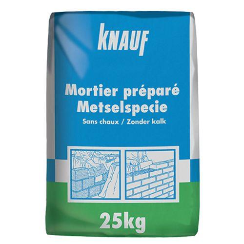 Mortier préparé Knauf 25 kg