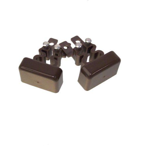 Legrand DLP einddeksel voor lijst bruin 20x12,5mm 2st.