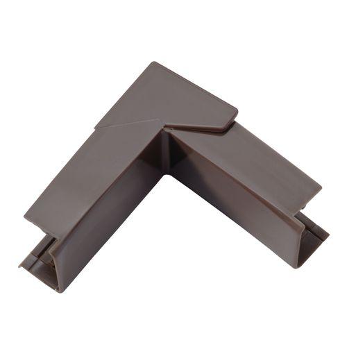 Legrand DLP kabelgoot variabele hoek bruin 20x12,5mm
