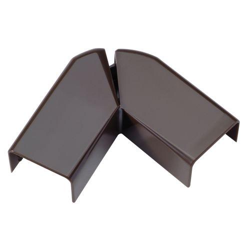Legrand DLP variabele platte hoek voor lijst bruin 20x12,5mm