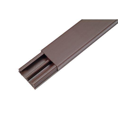 Scheinder DLP lijst 32x12,5mm bruin 2,1m