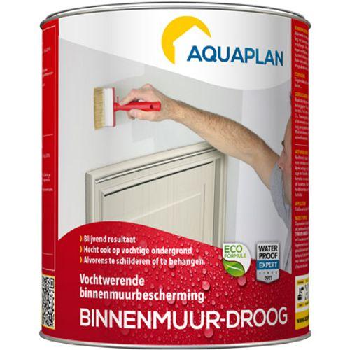 Aquaplan bescherming product 'Binnenmuur-Droog'  0,75 L