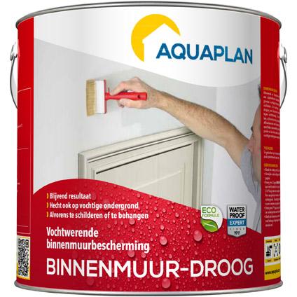 Aquaplan 'Binnenmuur droog'  2,5 L