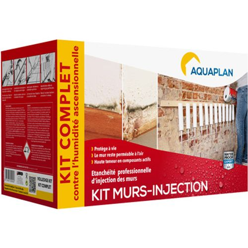 Aquaplan kit waterdichting 'Wall-injector' 5 L