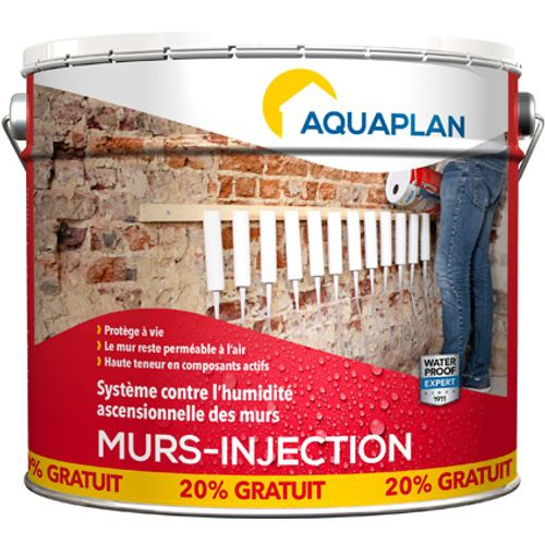 Aquaplan waterdichte product 'Wall injector' refill 12 L