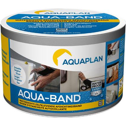 Aquaplan zelfklevende afdichtingsband 'Aqua-band' grijs 5mx10cm