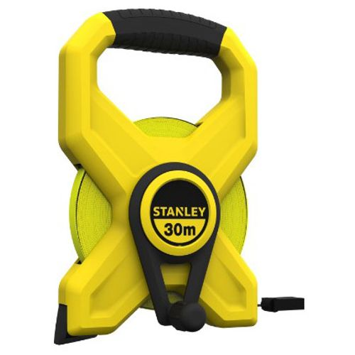 Stanley rolmeter 'Long Tape' glasvezel 30 m