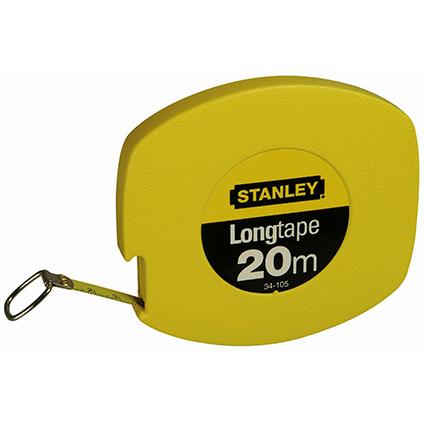 Stanley landmeter Long Tape metaal 20m