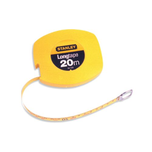 Stanley landmeter 'Long Tape' metaal 10 m