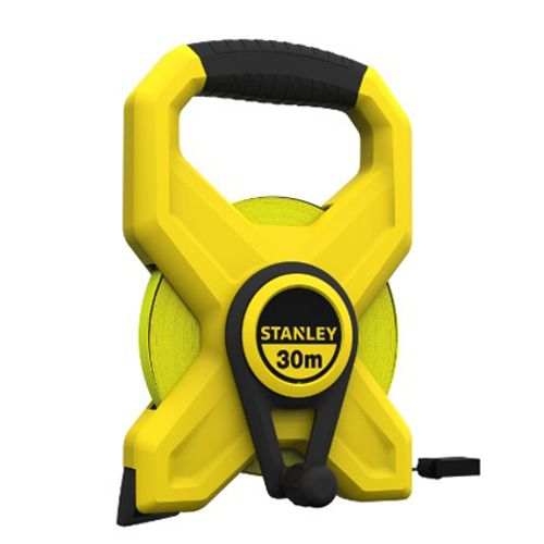 Stanley landmeter 'Long Tape' glasvezel 60 m
