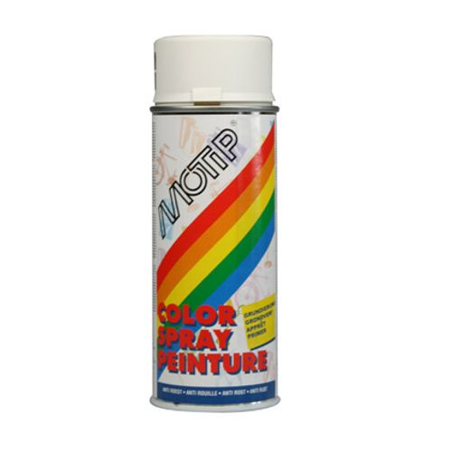 Motip spray primer grondverf 'Color' wit 400 ml