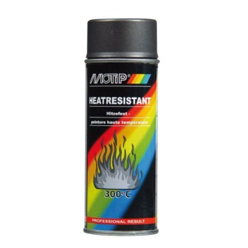 Laque spray haute température MoTip anthracite mat 400ml