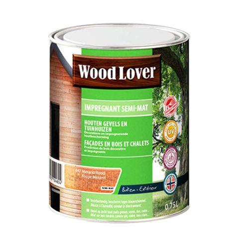 Lasure Wood Lover 'Impregnant semi - mat' meranti 647 - 750ml