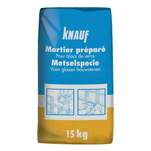 Mortier préparé pour blocs de verre Knauf 15 kg