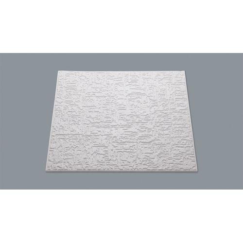 Decoflair plafondtegel in polystyreen 'T102' 50 x 50 x 1 cm - 8 stuks