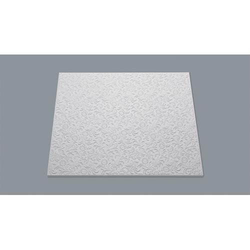 Dalle plafond Decoflair 'T107' polystyrène 50 x 50 x 1 cm - 8 pcs