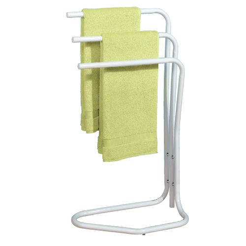Porte-serviette Allibert Happy 3 barres blanc