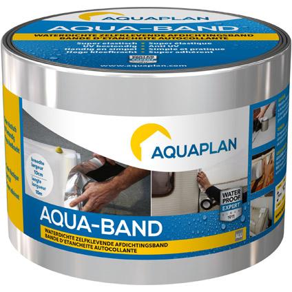 Bande d'étanchéité Aquaplan 'Aqua-Band' alu 10 m X 10 cm