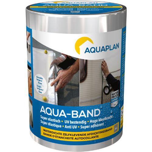 Bande d'étanchéité Aquaplan 'Aqua-Band' alu 10 m X 15 cm