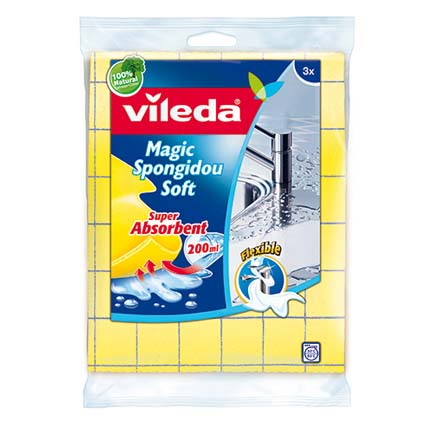 Magic spongidou soft Vileda 3 pcs
