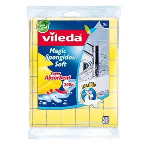 Magic spongidou soft Vileda 3 pcs