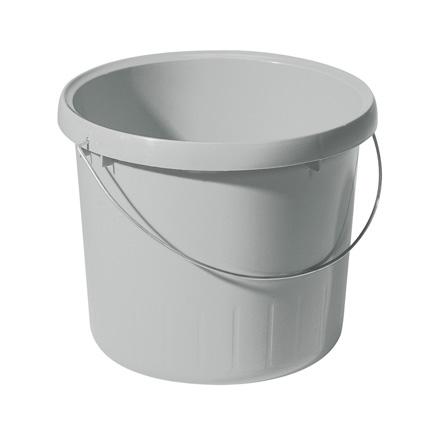 Seau Allibert gris granit 5 L