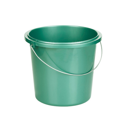 Seau Allibert vert 13 L