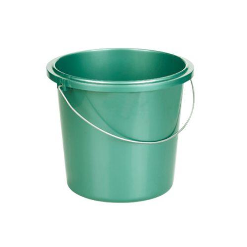 Allibert emmer metaal groen 13 L