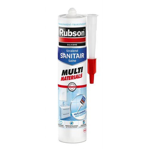 Mastic douche - baignoire acrylique transparent Rubson -  300 ml