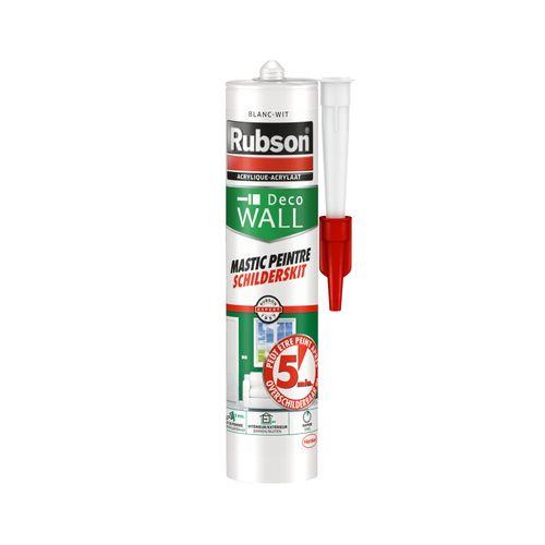 Rubson acrylaatmastiek 'Schilderskit' wit 300 ml