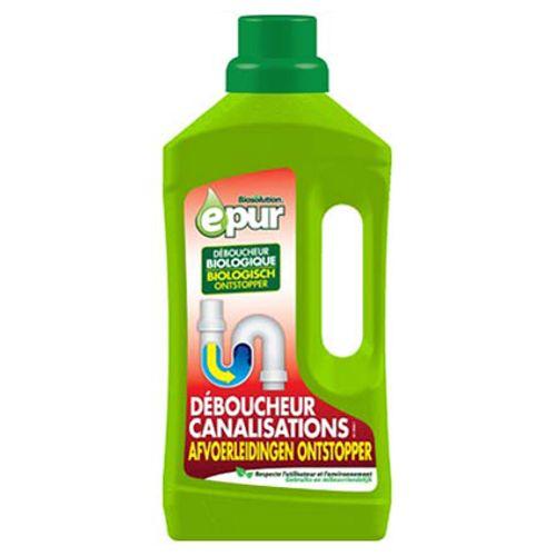 Déboucheur biologique canalisations Epur 1 L