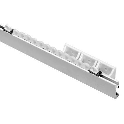 Sencys rail compleet metaal wit 200 cm