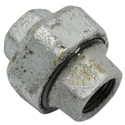 Sanivesk gegalvaniseerd staal 3-delige koppeling 1/2V x 1/2V