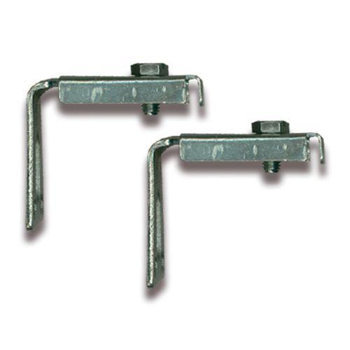 Sanistal 2 zijvasthouders voor radiator metaal
