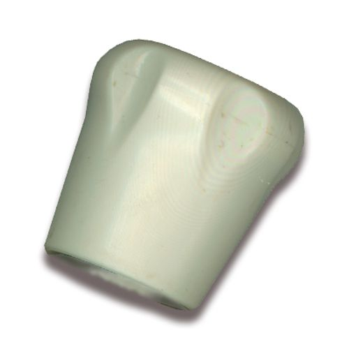 Sanistal handwiel radiatorkraan kunststof wit