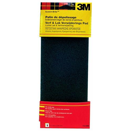 3M Scotch-Brite Polijstpad gelakte ondergrond