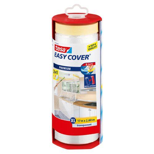 "Tesa zelfklevende afdekfolie ""Easy Cover XL"" met houder 17mx260cm"